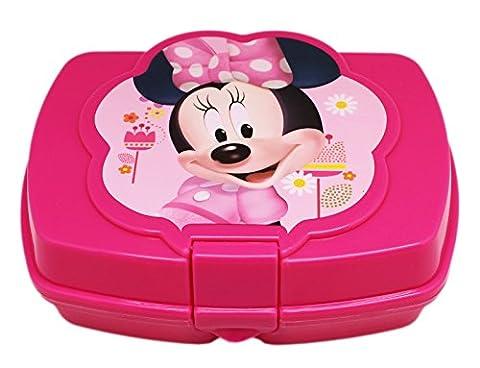 Disney Minnie Mouse Kids Sandwich Box Girls Lunch Box