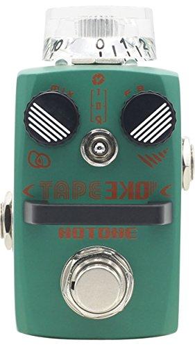Hotone Tape Eko Modeling Tape Delay Guitar Effects Pedal Echo Modeling Effects Pedal
