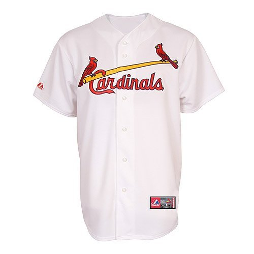 als Home Replica Baseball Youth Jersey, White, Medium (Louis Cardinals Replica Home Jersey)