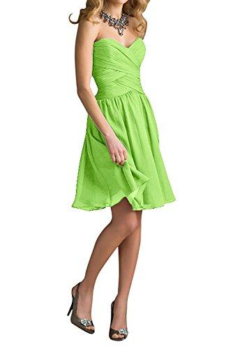 Mini Chiffon Lila Cocktailkleider Rock Abendkleider Apfel Marie Brautjungfernkleider Einfach Braut Gruen Dunkel La qIWczFwtc