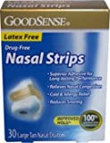 Good Sense Nasal Strips Large Clear Case Pack 36