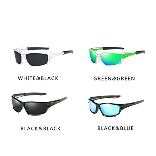 JULI Polarizadas JULI Moda de sol D620 Mujer Verde Hombre Gafas EYEWEAR Deportes 5twq6w