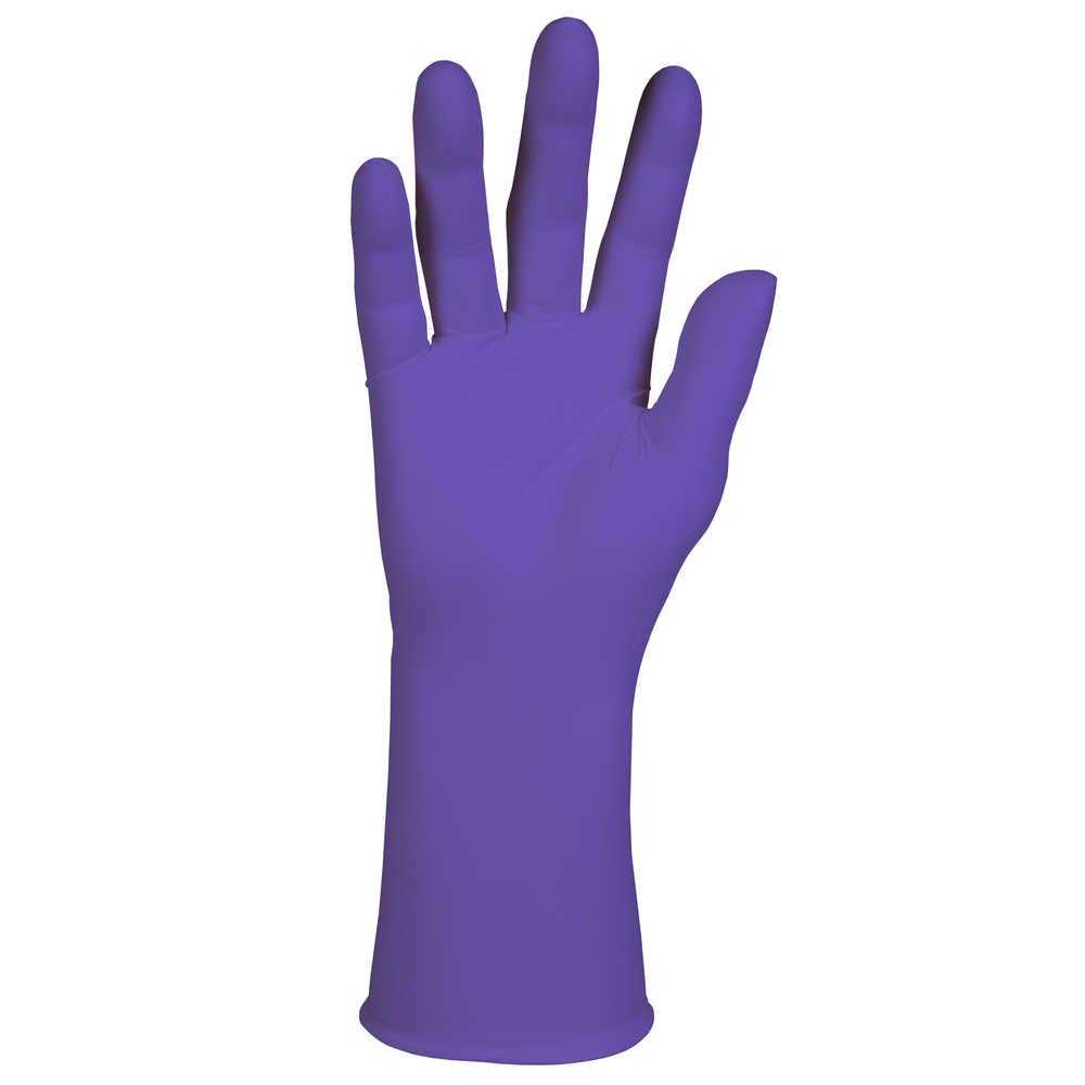 Safeskin Purple Nitrile-Xtra Exam Gloves Kimberly Clark 50602 Medium 50 per Package