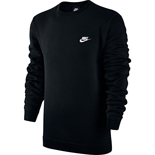 Men's Nike Sportswear Crew Black/White Size XXX-Large