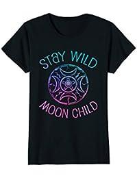 Stay Wild Moon Child Shirt : Wicca Wiccan Pagan Goddess Sun