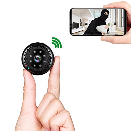 WNAT Hidden Camera 1080P HD Wifi Spy Camera Night Vision Wireless Real Time phone View Video Recorder Motion Detection Monitor Mini Cam