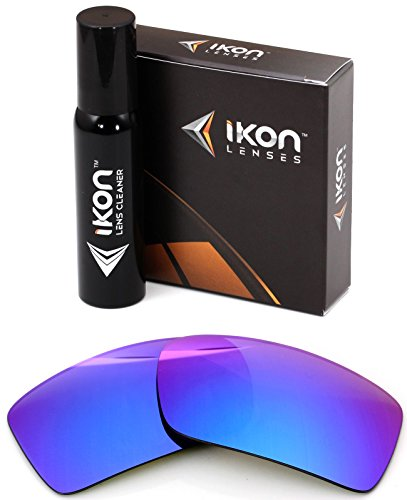 Polarized IKON Replacement Lenses For Von Zipper Sham Sunglasses - Violet ()