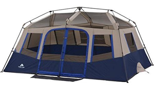 Amazon.com  Ozark Trail 10-Person 2 Room Instant Cabin Tent  Sports u0026 Outdoors  sc 1 st  Amazon.com & Amazon.com : Ozark Trail 10-Person 2 Room Instant Cabin Tent ...
