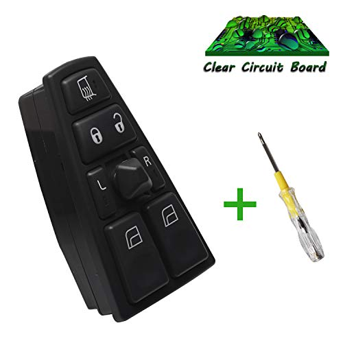 - Beneges Master Power Window Switch for 2004-2012 Volvo VN VNL VNM Truck FH12 FM Side 20752918, 20592918