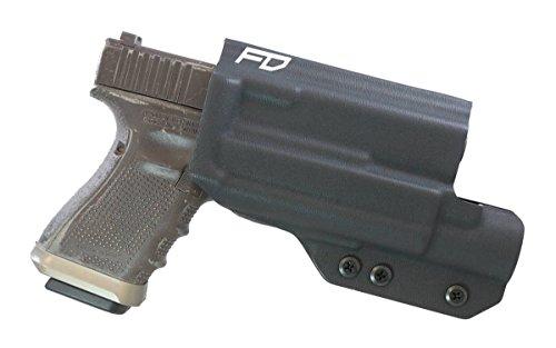 Fierce Defender OWB Kydex Holster Glock 19 23 32 W/X300 The Prodigy Series W/Teklok Belt Attachment -Made in USA- - Fierce Attachments