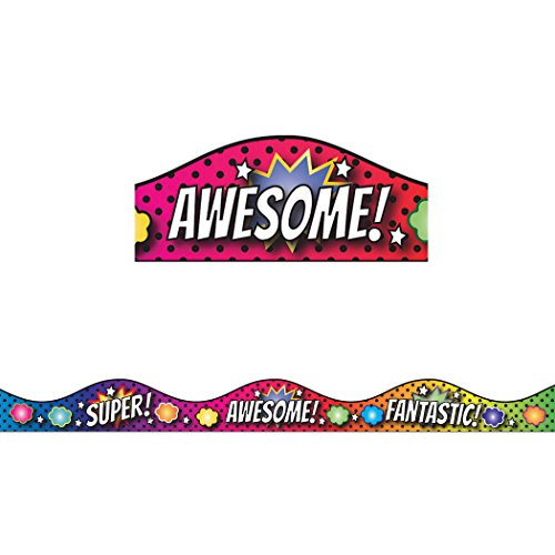 (Ashley Productions Superhero & Scallop Magnetic Border)