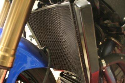 R&G(アールアンドジー) ラジエターガード ブラック GSX-R1000(K7-K8) RG-RAD0069BK   B005JWIUG0
