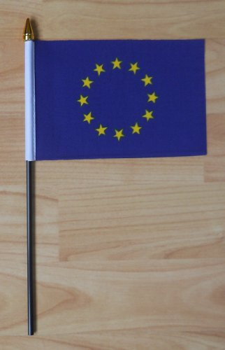 European Union, EU Hand Flag - Small. LetsCollect-it