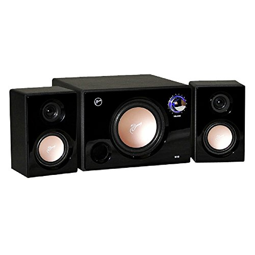 Swan Speakers - M10B - Powered 2.1 Computer Speakers - Su...