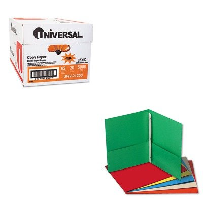 KITUNV21200UNV57113 - Value Kit - Universal Two-Pocket Po...