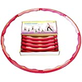 """Sports Hoop® - Power Hoop® 4B - 3.6lb (Dia.41"""") Large, Weighted Hula Hoop for Workout"""
