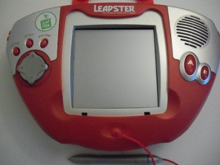 Leap Frog Original Large Screen Red Leapster System with Games Pre-loaded