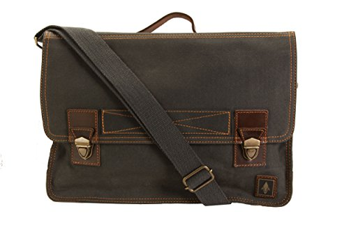 damndog-work-bag-canvas-flapover-messenger-15-computer-bag-rebel-gray
