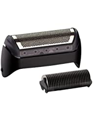 Braun Series 1/1000/2000 Series Foil and Cutter Replacement Cartridge, Fits CruZer Face, Series 1, FreeControl, with SmartFoil Technology Captures Hair Growing In All Directions, and Get Back 100% of Your Shaver's Performance, Black Finish