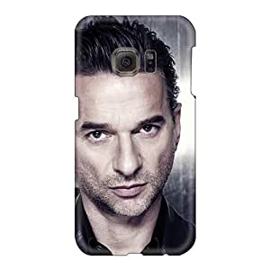 Shockproof Cell-phone Hard Covers For Samsung Galaxy S6 (clx12779NxtI) Custom Fashion Depeche Mode Band Pictures