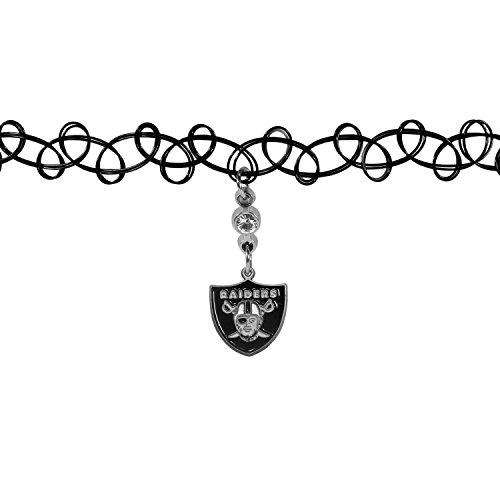 Siskiyou NFL Oakland Raiders Womens Knotted Choker]()