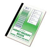 Money Receipt Book, 2 3/4 x 7, Triplicate with Carbons, 200 Sets/Book