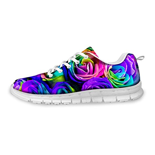 floral baja CHAQLIN mujer 4 Zapatilla Yv6nqfwnP0
