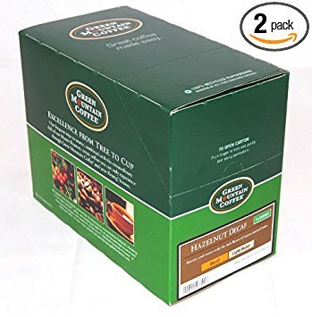 (Green Mountain Coffee Decaf Hazelnut, 24-Count K-Cups for Keurig Brewers (Pack of)
