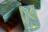 Organic Handmade Soap - Grass Stain Soap - Green Natural Soap - Gift ideas for Men