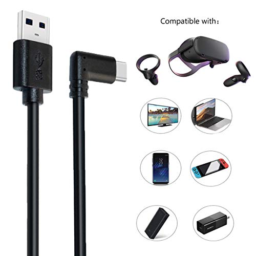 Oculus Quest Link Cable 10ft,USB C Cable High Speed Data Transfer & Fast Charging Cable Compatible for Oculus Quest Headset and Gaming PC