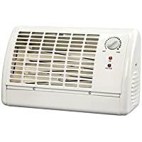 Soleil Small Radiant Heater 1320 W Metal Structure Body,White