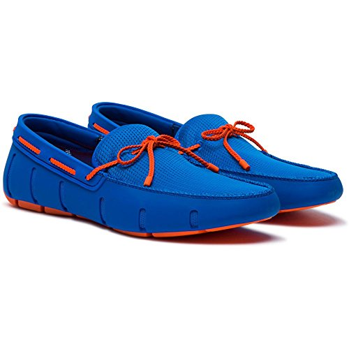 Men's Orange Blitz SWIMS Lace Blue Loafers Braided TYq0wqd