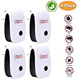 POP VIEW Pest Control Ultrasonic Pest Repeller, Non-Toxic, Humans & Pets Safe, Electronic Plug in Repellent Indoor for Insects, Mosquitoes, Mice, Spiders, Ants, Rats, Roaches