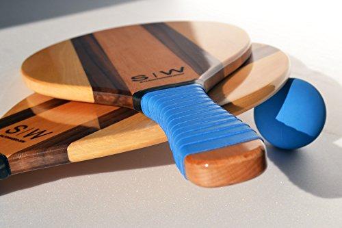 S|W Frescobol Raquet im Set (Blau )