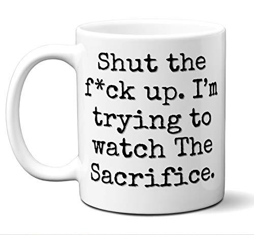 (The Sacrifice Gift Mug. Funny Parody Movie Lover Fan