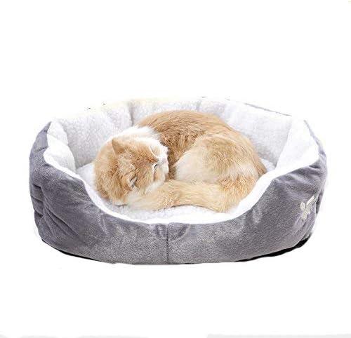 Aikesi Nido de Animal Redondo o Oval en Forma de cesto cojín casa Cama para Perro/Gato Animales Cama Pet para Gatos y Perros pequeños Suministros para Animales 1pc: Amazon.es: Productos para mascotas