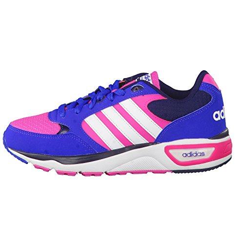 adidas Cloudfoam 8tis W, Zapatillas de Deporte Exterior Unisex Adulto Rosa / Blanco / Azul (Rosimp / Ftwbla / Azul)