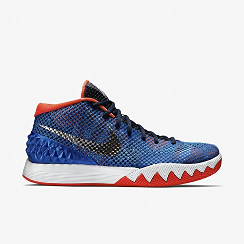 Nike Kyrie 1 Youth White/Black/Voltage/Silver Athletic Sneakers