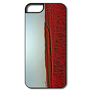 Custom Love Full Protection Red Meadow IPhone 5/5s Case For Family