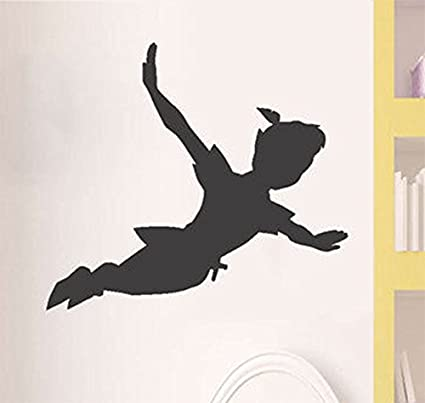 Amazon Artstickers Peter Pan Shadow Wall Decal Removable Vinyl