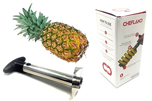 ChefLand Stainless Pineapple Peeler Slicer