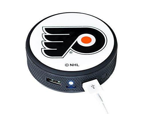 UPI Marketing NHL Philadelphia Flyers Remote Phone Charger, Black
