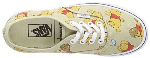 Vans U Authentic Disney - Zapatillas  para hombre Multicolore (disney winnie the pooh/light khaki)
