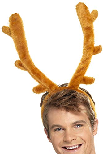 Smiffy's Stag Night Horns with Headband - -