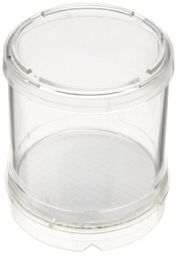Whatman 10497603 White Microbiological Membrane Filter Monitor with Black Grid, 0.2 Micron, 56mm Diameter, 100mL Volume (Pack of 50) by Whatman