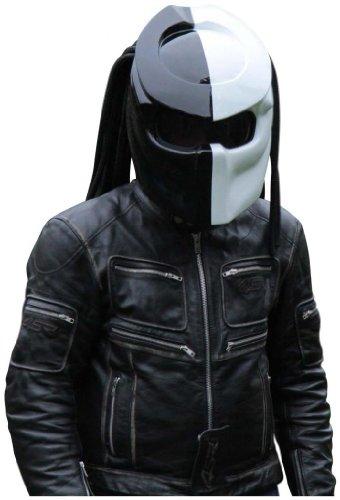 X-FF Fiber Factory - Predator Motorcycle Helmet - X1 Double Power (XL)