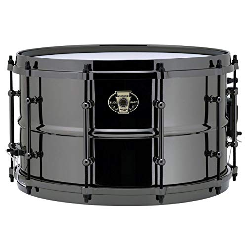 Ludwig Beauty Black Snare - Ludwig Black Magic Snare Drum - 8