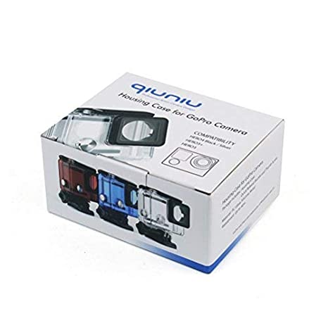 Amazon.com: Carcasa impermeable para cámara de acción GoPro ...