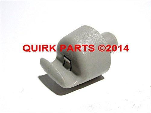 Oem Retainer (2013-2015 Nissan Pathfinder Altima Grey Sun Visor Retainer Hook Clip OEM NEW 96409-3JA0A)