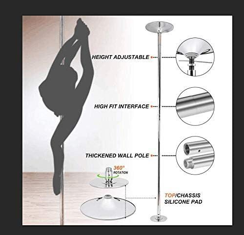 CloverUS 4M Universal Gym Dance Ribbon Rhythmic Gymnastic Streamer Twirling Rod Stick